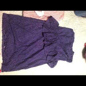 Delias strapless dress